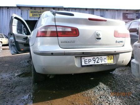 Renault Laguna 2001 - отзыв владельца