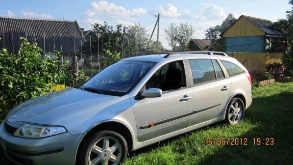 Renault Laguna 2002 - отзыв владельца