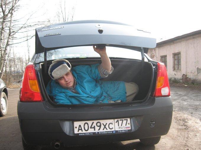 Секс в рено логан