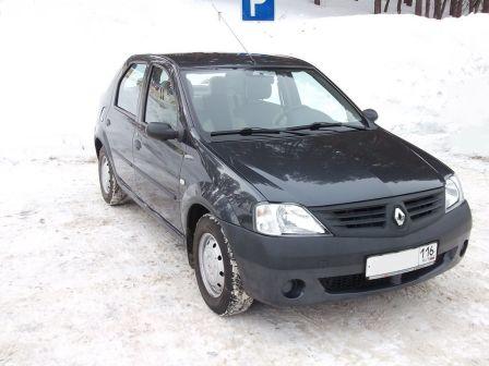 Renault Logan 2008 - отзыв владельца