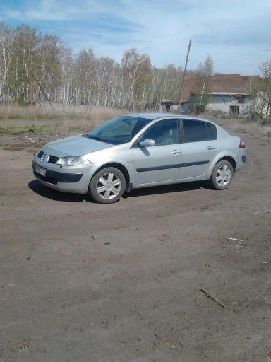 Renault Megane 2004 отзыв автора | Дата публикации 14.06.2013.