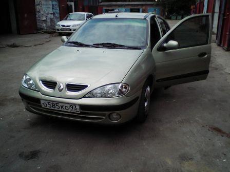 Renault Megane 2001 - отзыв владельца