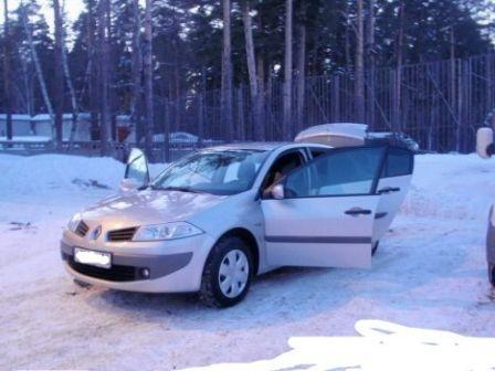 Renault Megane 2006 - отзыв владельца