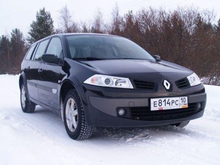 Renault Megane 2007 - отзыв владельца