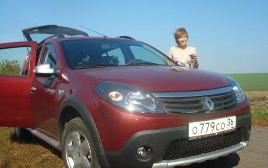 Renault Sandero Stepway 2012 - отзыв владельца
