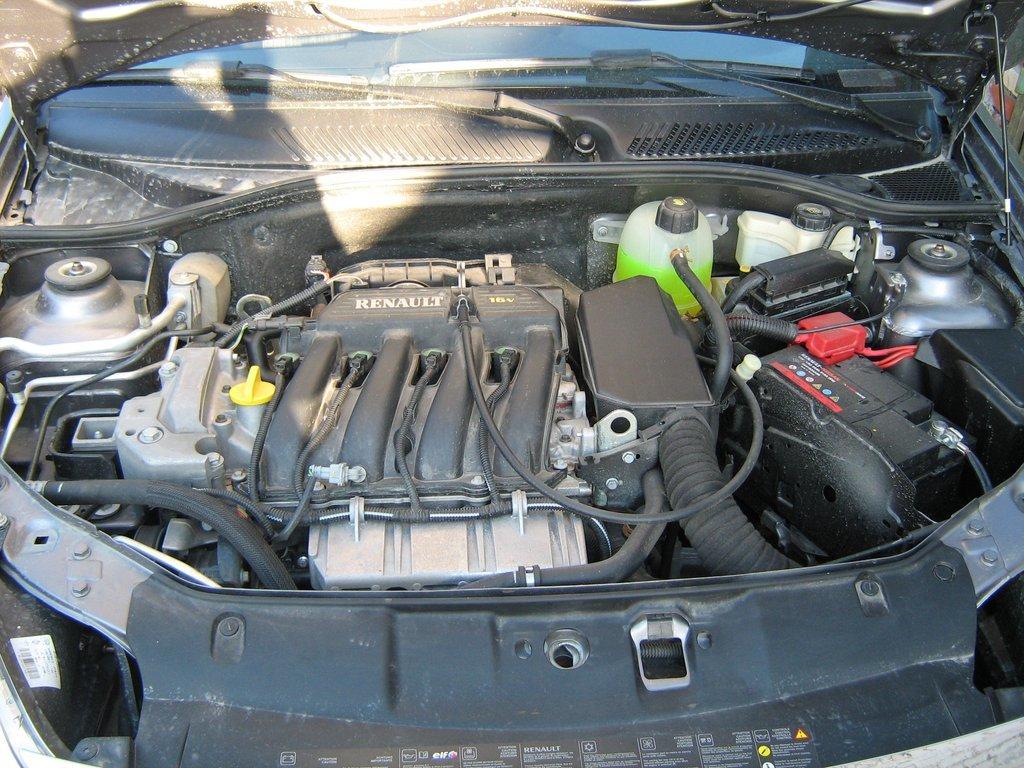 renault symbol 1,4 л, 2008 года двигатель