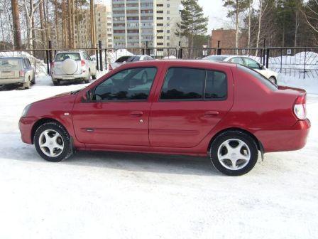 Renault Symbol 2006 - отзыв владельца
