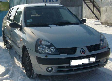 Renault Symbol 2003 - отзыв владельца