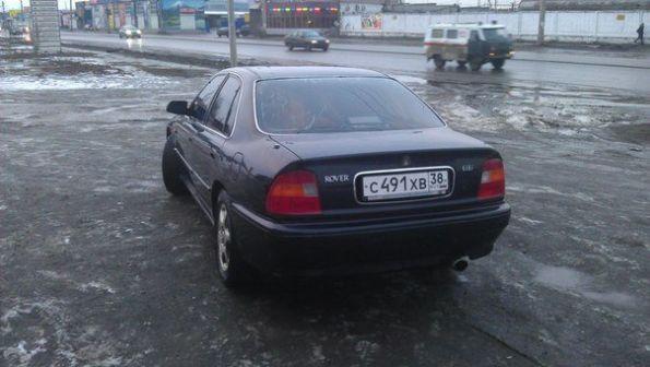 Rover 600 1996 - отзыв владельца