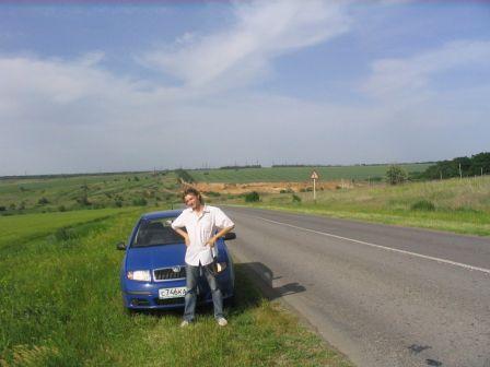Skoda Fabia 2006 - отзыв владельца