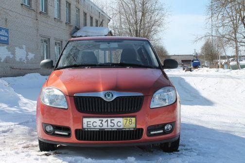 Skoda Fabia 2007 - отзыв владельца