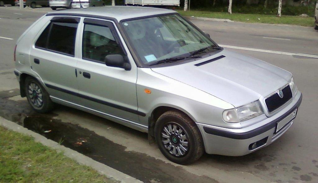 skoda felicia 1995 мотор 1300 моноинжектор