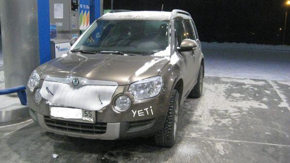 Skoda Yeti 2012 - отзыв владельца