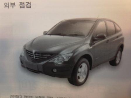 SsangYong Actyon 2006 - отзыв владельца