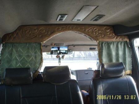 SsangYong Istana 1998 - отзыв владельца