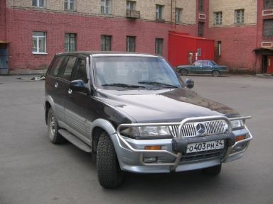 SsangYong Musso, 1997