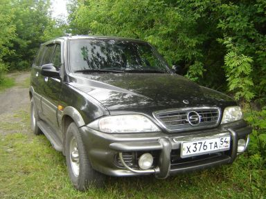 SsangYong Musso, 2002