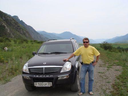 SsangYong Rexton 2007 - отзыв владельца