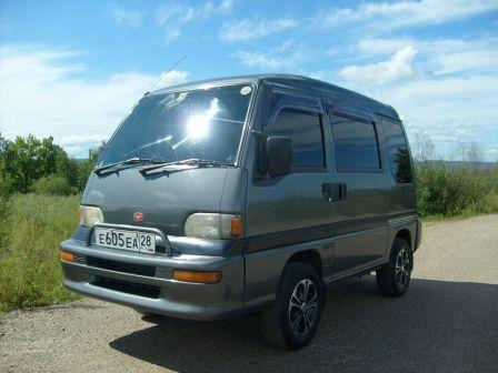Subaru Domingo 1995 - отзыв владельца