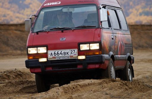 Subaru Domingo 1985 - отзыв владельца