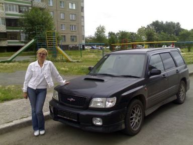 Subaru Forester, 2001