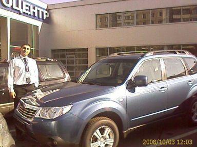 Subaru Forester 2008 отзыв автора | Дата публикации 25.10.2008.