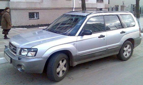 Subaru Forester 2003 - отзыв владельца