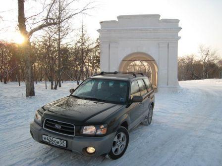 Subaru Forester 2004 - отзыв владельца
