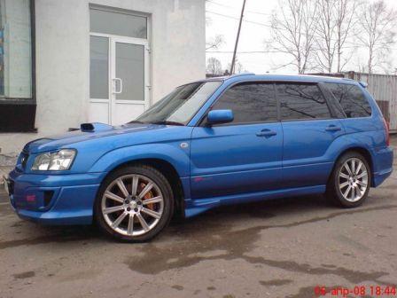 Subaru Forester 2007 - отзыв владельца