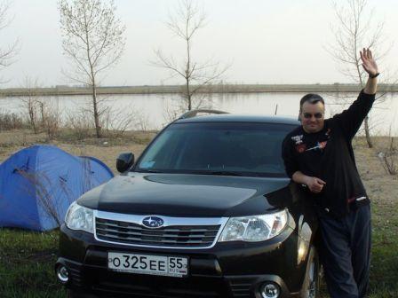 Subaru Forester 2008 - отзыв владельца