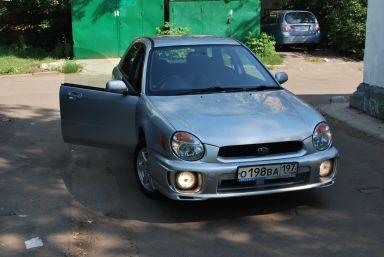 Subaru Impreza, 2002