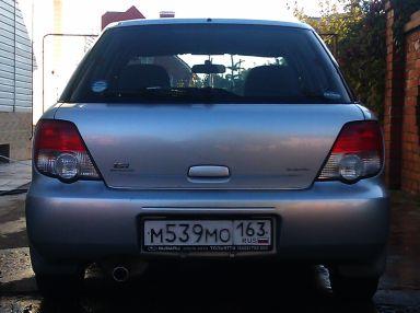 Subaru Impreza 2002 отзыв автора | Дата публикации 08.10.2011.