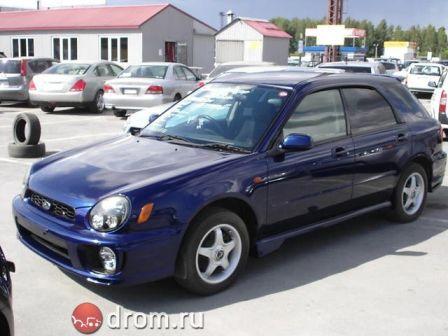 Subaru Impreza 2002 - отзыв владельца