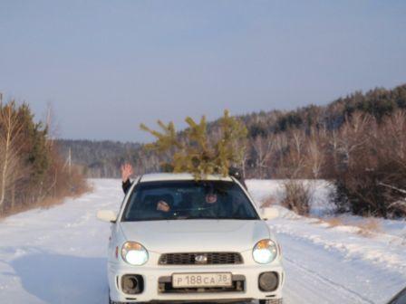 Subaru Impreza 2001 - отзыв владельца