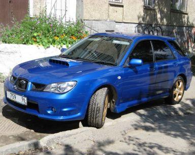 Subaru Impreza WRX, 2002