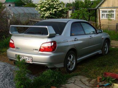 Subaru Impreza WRX, 2000