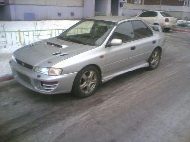 Subaru Impreza WRX, 1998