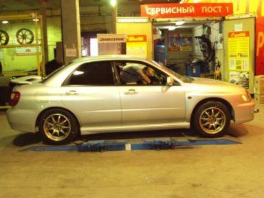 Subaru Impreza WRX 2001 отзыв автора | Дата публикации 27.08.2011.