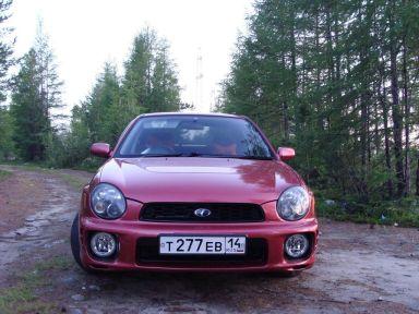 Subaru Impreza WRX 2000 отзыв автора | Дата публикации 23.11.2011.