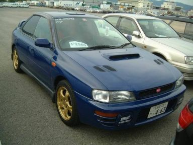 Subaru Impreza WRX 1997 отзыв автора | Дата публикации 21.12.2004.