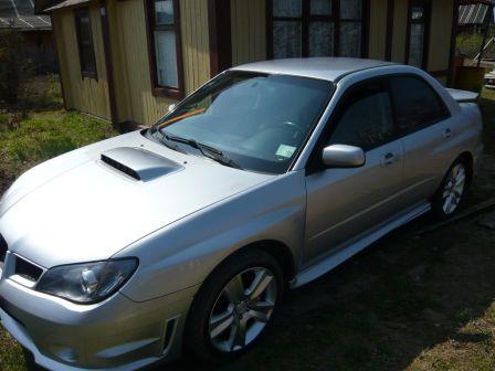 Subaru Impreza WRX 2005 - отзыв владельца