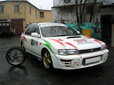 Subaru Impreza WRX 1996 - отзыв владельца