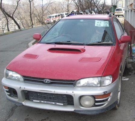 Subaru Impreza WRX 1995 - отзыв владельца