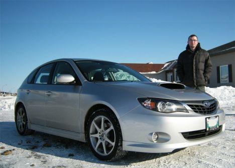 Subaru Impreza WRX 2008 - отзыв владельца