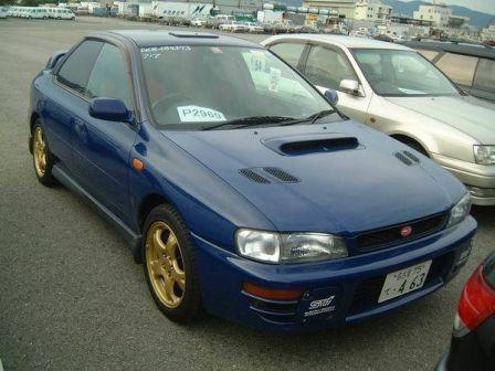 Subaru Impreza WRX 1997 - отзыв владельца