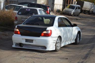Subaru Impreza WRX STI, 2001