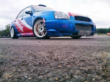 Subaru Impreza WRX STI, 2004