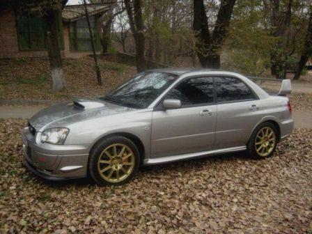 Subaru Impreza WRX STI 2005 - отзыв владельца