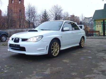 Subaru Impreza WRX STI 2006 - отзыв владельца