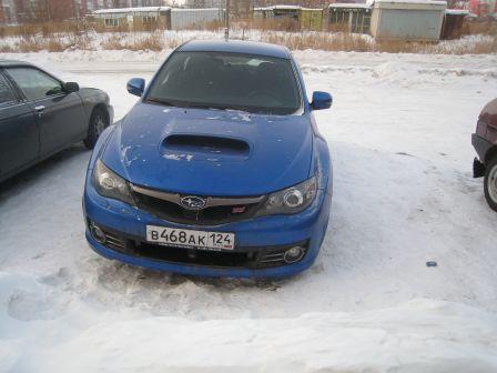 Subaru Impreza WRX STI 2009 - отзыв владельца